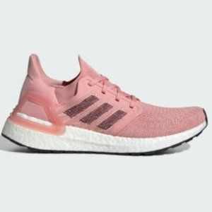 Adidas Ultra Boost 20 Pink Running Shoes